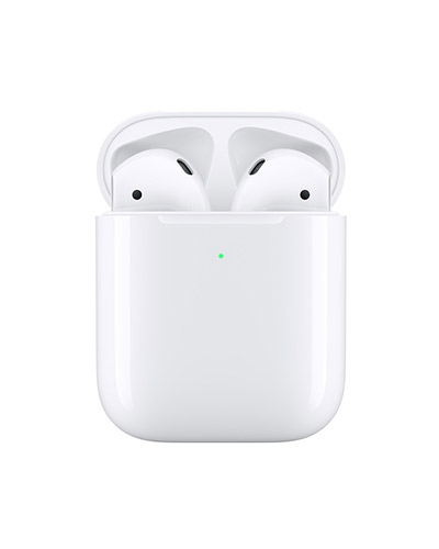Apple Airpods with Wireless Charging Case (White)