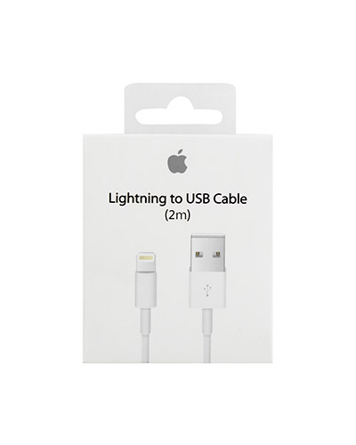 Apple Data Cable Lightning to USB 1m image